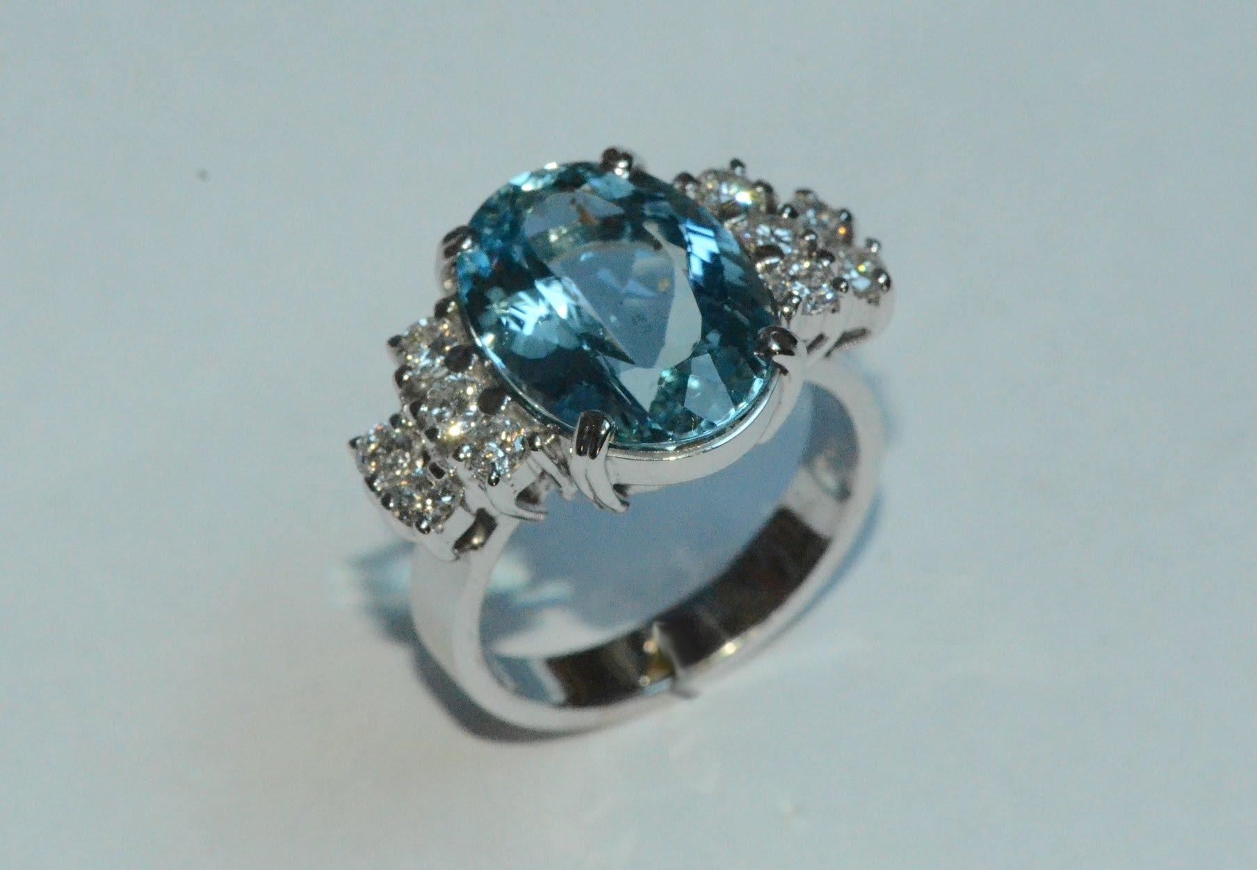 A gyémánt jegygyűrű lenyűgöző